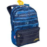 Mochila Infantil Hot Wheels 16Y02 - Masculino-Azul