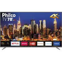 "Smart Tv Led 4K 70"" Philco Bivolt Ptv70Q50Snsg"