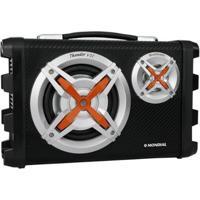 Caixa De Som Amplificadora Mondial Mco-07 80W Ativa Usb Com Subwoofer - Unissex