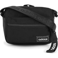 Bolsa Adidas Classic Organizer - Unissex-Preto+Branco
