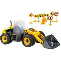 Máquina Carregadeira Construction Machine - Masculino-Amarelo+Preto