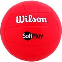 Bola De Vôlei Wilson Soft Play - Vermelho