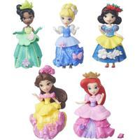 Conjunto 5 Mini Bonecas - Disney Princesas - Little Kingdom - Hasbro - Feminino-Incolor