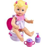 Boneca Little Mommy - Peniquinho - Vestido Lilás - Mattel