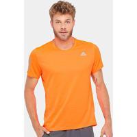 Camiseta Adidas Response Climacool Masculina - Masculino-Laranja