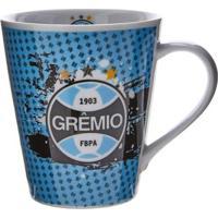 Caneca Porcelana Do Grêmio - Unissex-Azul