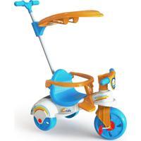Triciclo Xalingo Multi Care 3 X 1 Com Empurrador - Pedal - Colorido - 7602 - Azul