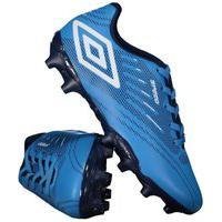 Chuteira Campo Umbro Speed Iv Infantil 884271-372, Cor: Azul/Branco, Tamanho: 28