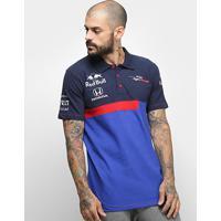 Camisa Polo Red Bull Toro Rosso Otl Masculina - Masculino