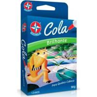 Cola Brilhante - Para Quebra-Cabeça - Estrela - Unissex-Incolor