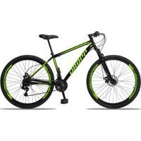 Bicicleta Aro 29 Dropp Aço 21V Câmbios Shimano Freio A Disco Mecânico Com Suspensão - Unissex