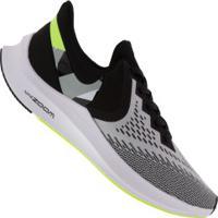Tênis Nike Zoom Winflo 6 - Masculino - Preto/Cinza Claro