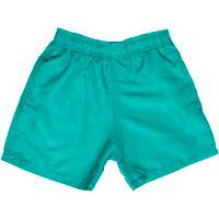 Shorts D'Água Infantil Jokenpô Tartaruga Masculino Verde Água