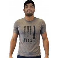 Camiseta Big Jiu Masculina - Masculino-Bege