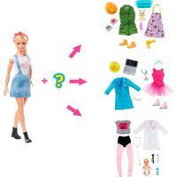 Barbie Carreiras Surpresa – Mattel - Tricae