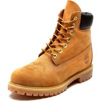 Bota Couro Timberland Yellow Boot 6In Premium Boot Wp Caramelo b0d741fd58460