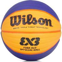 d5930651a2 Netshoes  Bola Basquete Oficial Fiba 3X3 Wilson Wtb0533Xb - Unissex