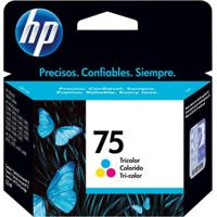 Cartucho Hp 75 Jato De Tinta Tricolor 6Ml Cb337Wb