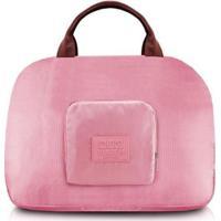 Bolsa Jacki Design De Viagem Dobrável - Unissex-Rosa