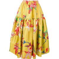 La Doublej Oscar Skirt - Amarelo