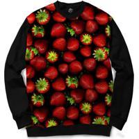Blusa Bsc Strawberry Full Print - Masculino