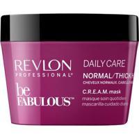Revlon Professional Be Fabulous C.R.E.A.M - Máscara Para Cabelos Normais A Grossos 200Ml - Unissex-Incolor