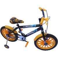 Bicicleta Aro 16 Onix Com Acessorios E Roda Nilon Infantil - Masculino