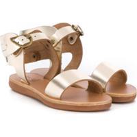 Ancient Greek Sandals Kids Sandália Little Ikaria - Dourado