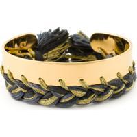 Aurelie Bidermann Bracelete Banhado A Ouro - Metálico