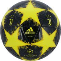 52681b0295 Bola De Futebol De Campo Juventus Champions League Finale 18 Adidas -  Amarelo Preto