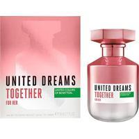 Perfume Benetton United Dreams Together For Her Feminino Edt 80Ml - Feminino-Incolor