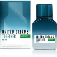 Perfume Benetton United Dreams Together For Him Masculino Edt 100Ml - Masculino-Incolor