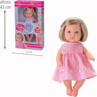Boneca Baby Girl Frases - Bambola