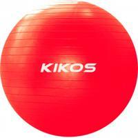 Bola De Pilates Suiça Fit Ball 55Cm Kikos - Vermelho