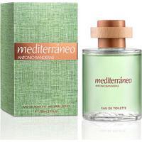 Perfume Masculino Mediterráneo Antonio Banderas Eau De Toilette 100Ml - Masculino-Incolor