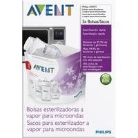 Sacos Para Esterilização No Micro-Ondas - Philips Avent - Unissex