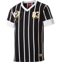 Netshoes  Camisa Retrô Gol Sócrates Ex - Corinthians 1983 Torcedor  Masculina - Masculino d925ea6394cc6