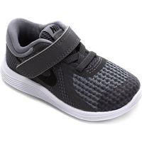 Tênis Infantil Nike Revolution 4 Btv - Masculino-Cinza+Chumbo
