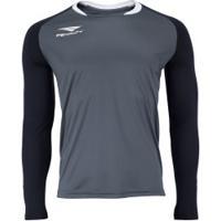 Camisa De Goleiro Manga Longa Penalty Delta - Masculina - Preto