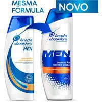 Shampoo De Cuidados Com A Raiz Head E Shoulders Men Prevenção Contra Queda 200Ml
