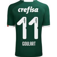 Netshoes  Camisa Palmeiras I 19 20 Goulart Nº 11 - Torcedor Puma Masculina  - Masculino fd918ced49482