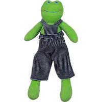 Chocalho Sapinho Cas Brinquedos Crock - Antialérgico - 33 Cm - Verde