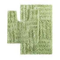 Jogo De Banheiro Caricia Geometria 2 Peças Verde 100% Algodão Corttex