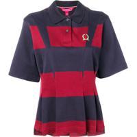 b76001e32 Farfetch; Hilfiger Collection Camisa Polo Com Pregas - Azul