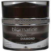 Biomarine Anti Idade Acqua Diamond Booster Noturno Clareador E Firmador 45G