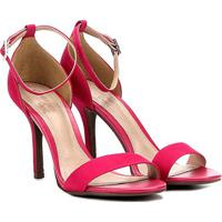 Sandália Dumond Salto Fino Feminina - Feminino-Pink