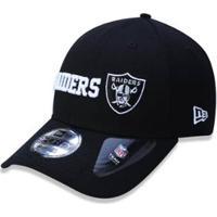 ... Boné 940 Oakland Raiders Nfl Aba Curva Snapback New Era -  Masculino-Preto 3340d35bb9bde