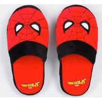 Pantufa Infantil Homem Aranha Marvel