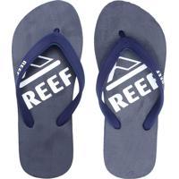 Chinelo Reef Switchfoot Basica I Azul-Marinho