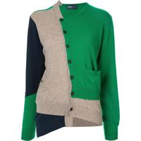 Kolor Cardigan Com Patch - Verde